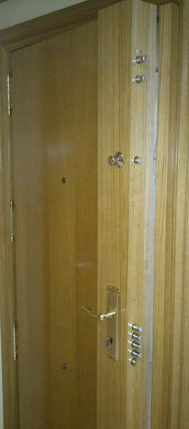 Cerraduras de alta seguridad para puertas blidadas for Cerraduras de seguridad para puertas